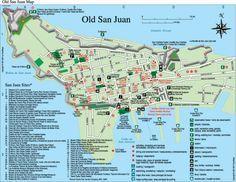 Puerto Rico Map Tourist Attractions | 18.4660749472543 -66.1159372329712 16 satellite