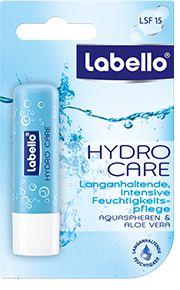 -in USA- Labello HYDRO CARE lip balm chapstick