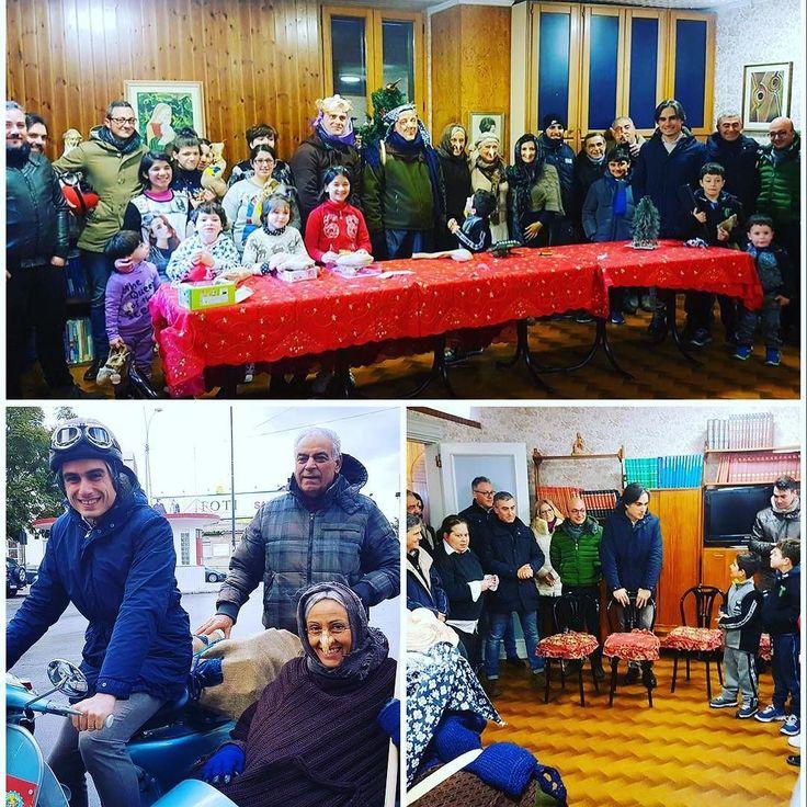 Oggi insieme alla befana e agli amici del Vespa Club di Reggio Calabria abbiamo regalato un sorriso ai bimbi meno fortunati della Città! #reggiocalabria #amministrazionefalcomatà #ReggioRinasce #epifania