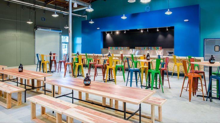 Golden Road Brewing opens a brewery, restaurant and beer garden in Orange County