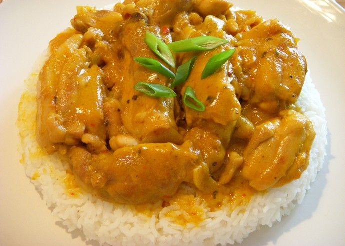 Pollo all'indiana