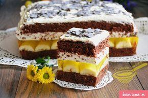 "Ciasto ""Jamajka"" - Swiatciast.pl"