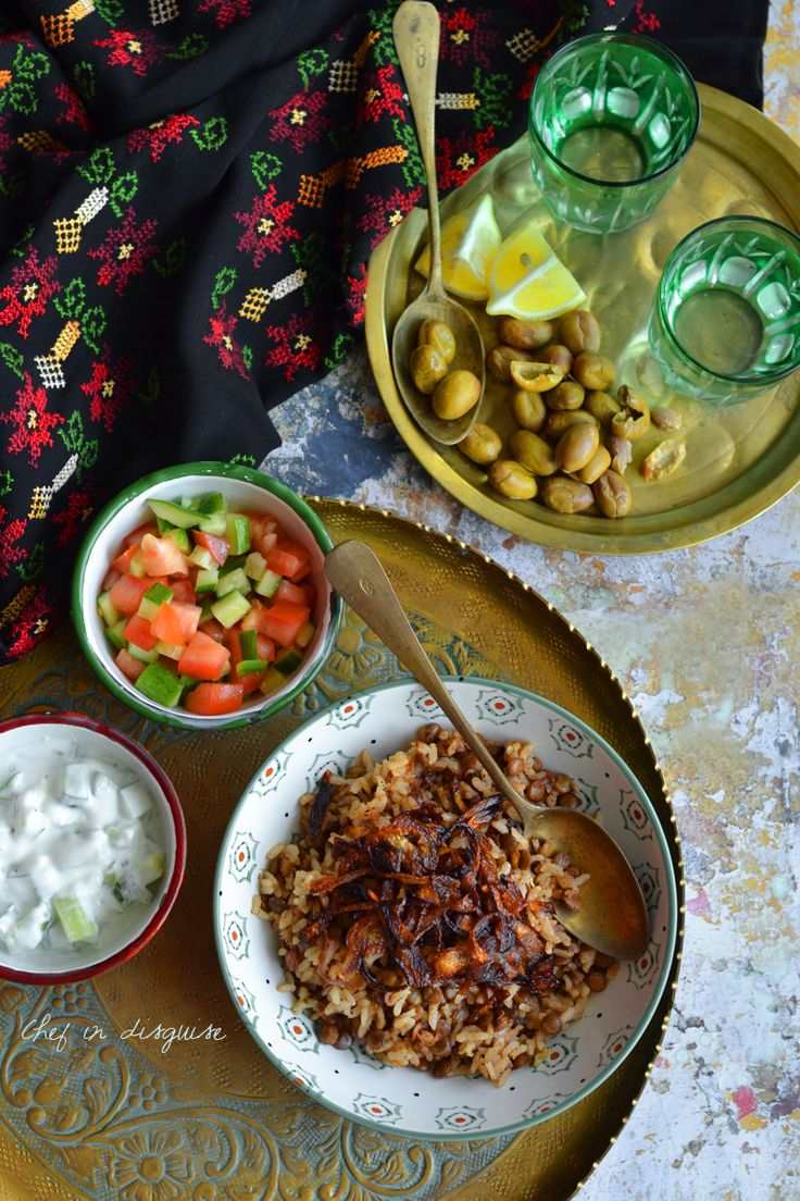 93 best arabic food recipes images on pinterest arabic food mujaddara vegetarian lentils rice pilaf with caramelized onions forumfinder Images