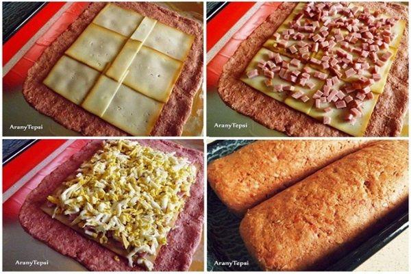 Tojásos-tarjás fasírttekercs, pofon egyszerű és nagyon finom akár vendégváró vacsiként vagy elkápráztatni a családot egy fárasztó hétköznap után. Próbáld ki Te is! :)