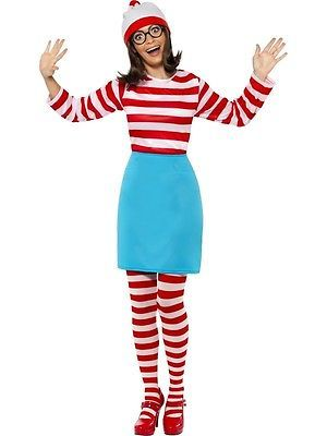 Where's #wally wenda costume womens #ladies #fancy dress world book day week outf,  View more on the LINK: 	http://www.zeppy.io/product/gb/2/201389127976/