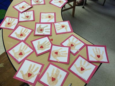 The kissing hand art project for first day...maybe send home and have parents draw the heart...to return to school the next day