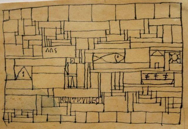 Joaquín Torres-García, Abstract composition (1935)