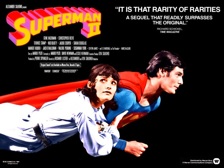 Superman II (1980) | Directors Richard Donner, Richard Lester Finally appearing on DVD/Blu-ray 26 years after the original release of the version made by Richard Lester following Richard Donner's removal from the film by the Salkind Brothers, the Richard Donner cut of Superman II consists mostly (if not entirely) of footage shot by Donner, including substantial scenes with Marlon Brando as Superman's father.