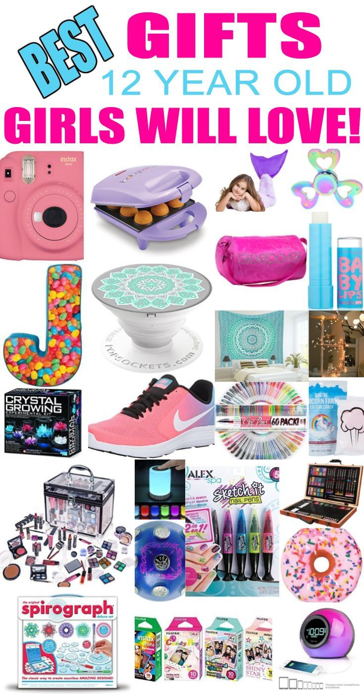 Best Gifts For 12 Year Old Girls | Christmas Party Tips | Pinterest ...