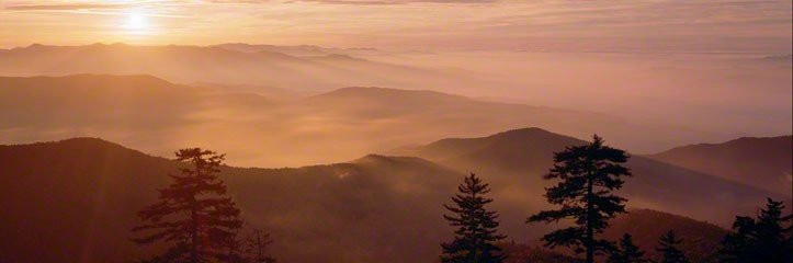 Smoky Mountains by Peter Lik