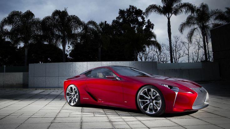 Lexus LF-LC Concept Wallpaper by Jalopnik