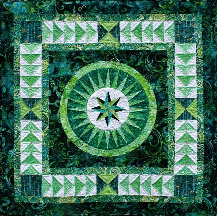 54 best Mariner's Compass Star Patterns and Quilts images on ... : nautical star quilt pattern - Adamdwight.com