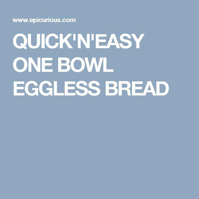 QUICK'N'EASY ONE BOWL EGGLESS RAISIN  BREAD