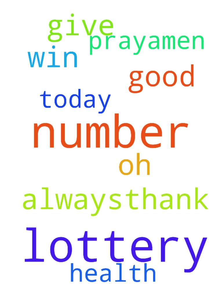 lord Jesus, I pray to you that my lottery number will -  lord Jesus, I pray to you that my lottery number will win today. Give us oh lord a good health always,thank you. In Jesus Christ we pray,amen Posted at: https://prayerrequest.com/t/CtG #pray #prayer #request #prayerrequest
