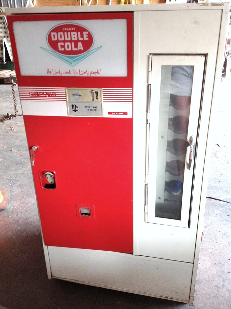 1950's Double Cola Vending Machine