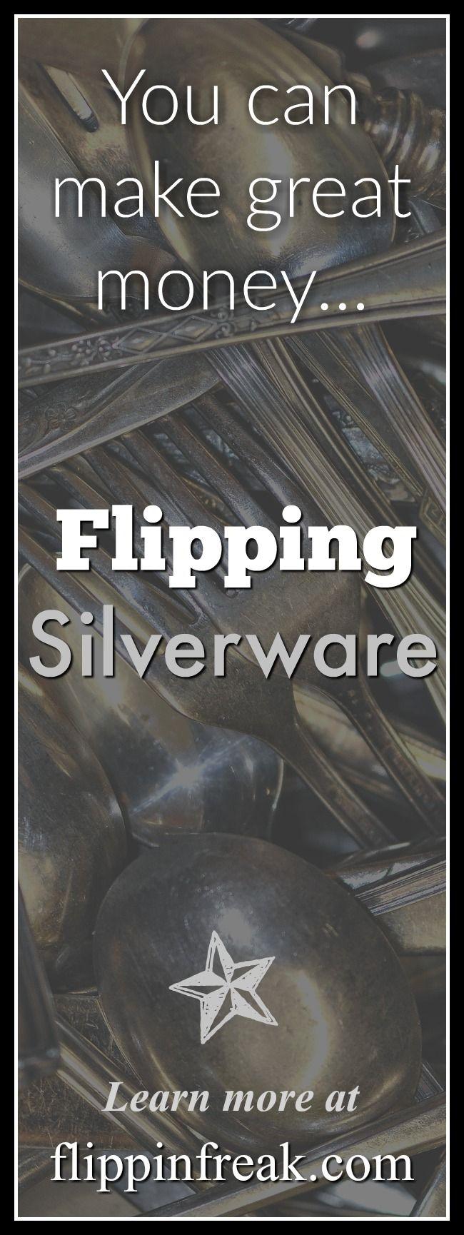 Learn how to make great money flipping Silverware! @flippinfreak.com #sterlingsilver #sterling #silver #collectibles #flipping #fllippinfreak