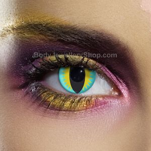 Lizard Contact Lenses (Pair)- Buy Jewellery