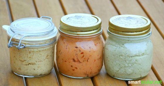 Einfach und lecker - vegane Brotaufstriche zubereiten