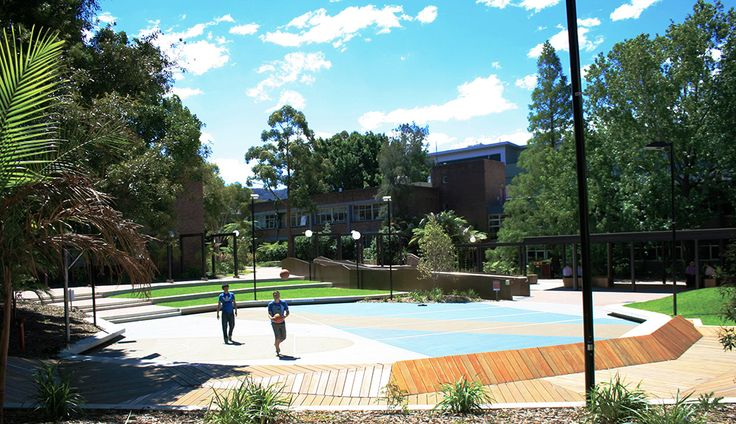 Taylor Brammer Landscape Architects were involved in the rejuvenation of The East End, at The University of Wollongong.