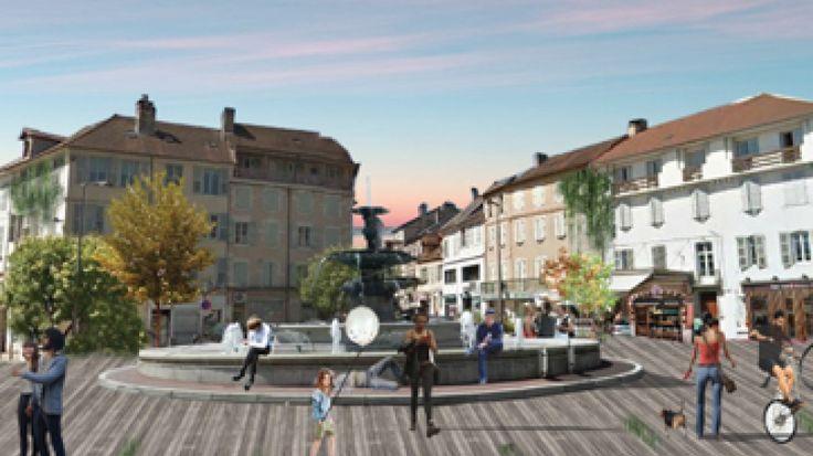 Restitution travail Ecole Nationale Supérieure d'Architecture de Lyon - Belley - 30/03/2017   CAUE de l'Ain