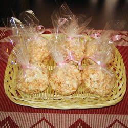 Marshmallow Popcorn Balls Allrecipes.com