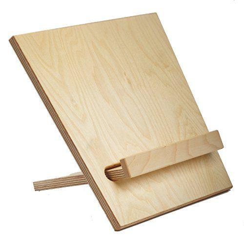 libriset, Buchstütze, Tischnotenständer - werkstatt-design... schönes aus Werkstätten für behinderte Menschen werkstatt-design http://www.amazon.de/dp/B002G308LA/ref=cm_sw_r_pi_dp_zkU.ub1BDRJYG