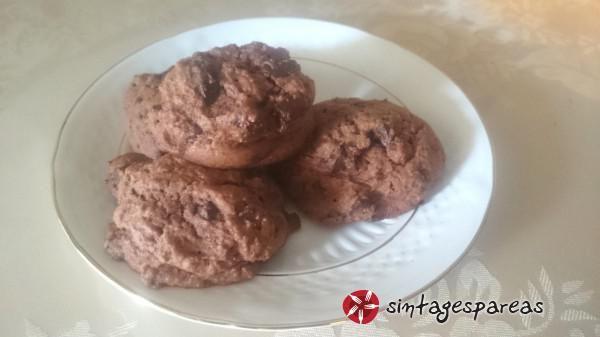 Βραβευμένη συνταγή chocolate chip cookies αφράτα #sintagespareas #chocolatechipcookies