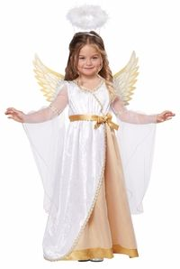 toddler sweet little angel costume #christmas