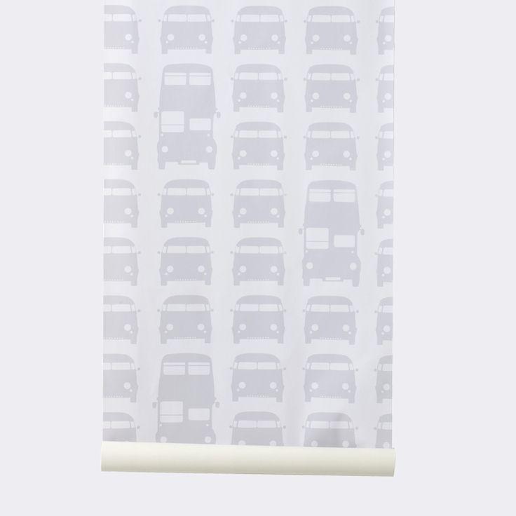 Rush Hour Wallpaper - Grey