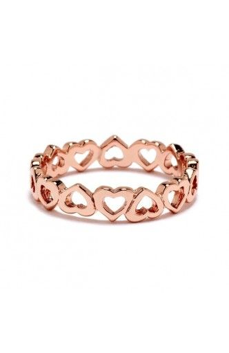 eternity heart ring