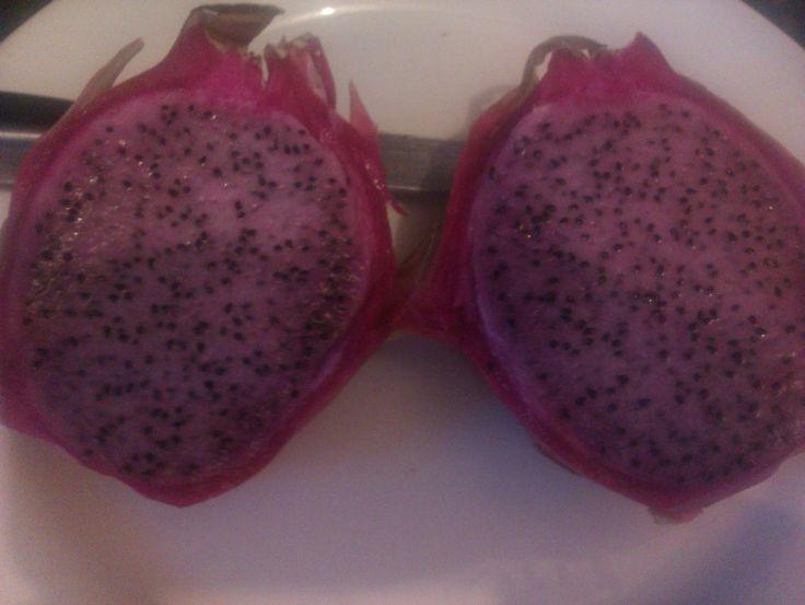 Luscious dragonfruit