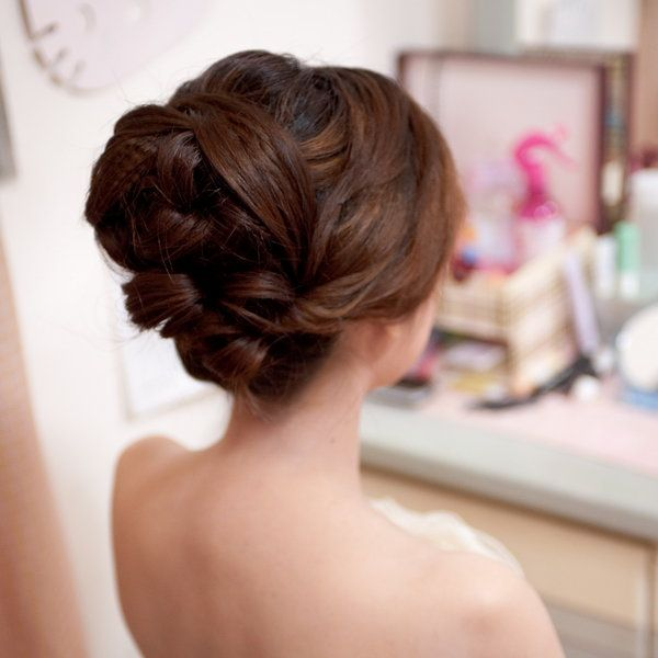 asian wedding hair
