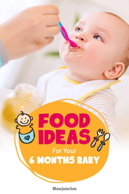 Amazing And Yummy Recipes Ideas For 6-Month-Baby Food