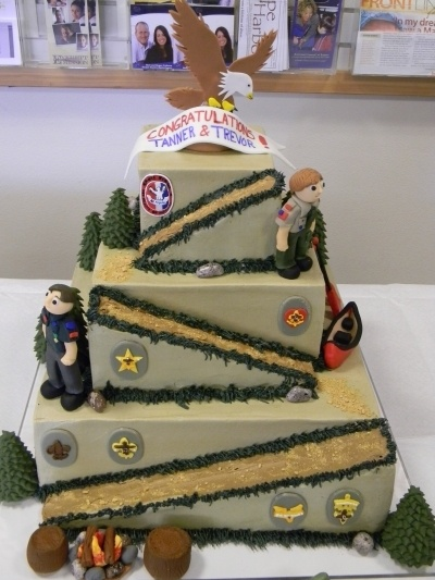 Cake Decorating Ideas For Boy Scouts : 17 Best images about Eagle Scout Ideas on Pinterest ...