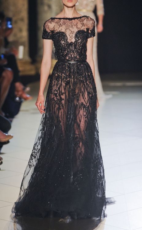 .: Elie Saab Fall, Eliesaab, Ellie Will Be, Dresses, Black Ties Wedding, Red Carpets, Couture Collection, Elie Saab Couture, Haute Couture
