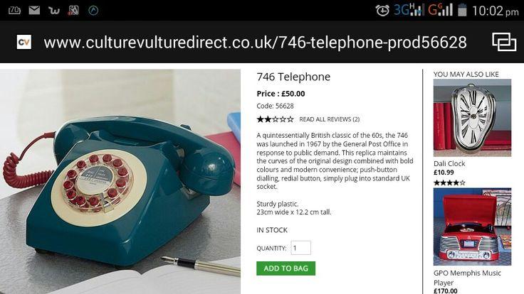 Retro phone!!!