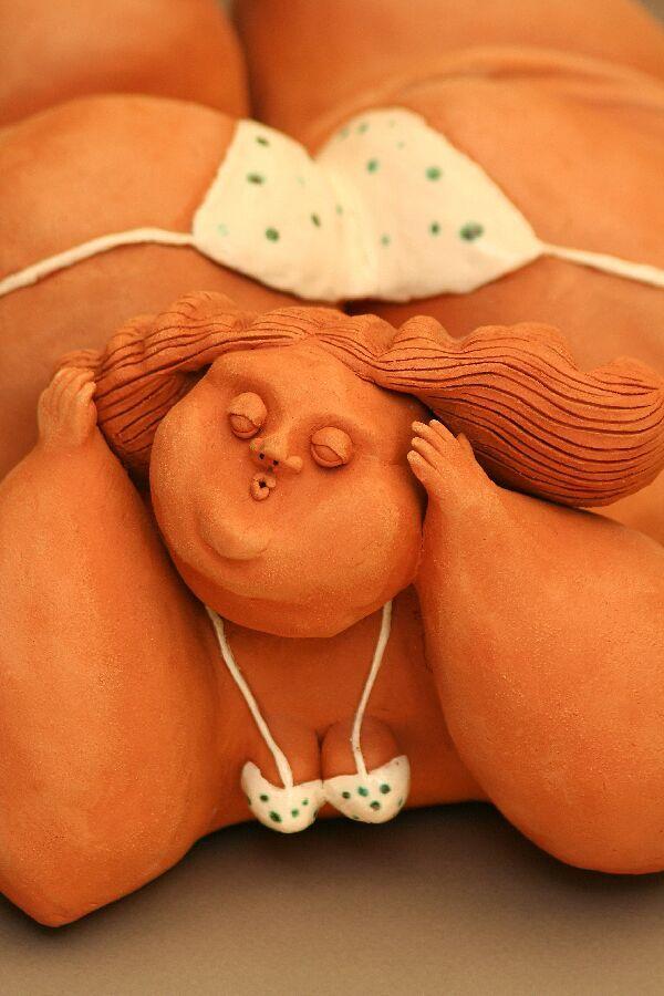 Vesna Barbieri, ceramic sculpture