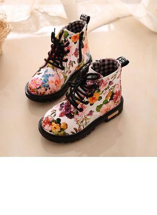 6f8c9610c23fb Filles Lacet Quotidien Chaussures pour fille (1224029)
