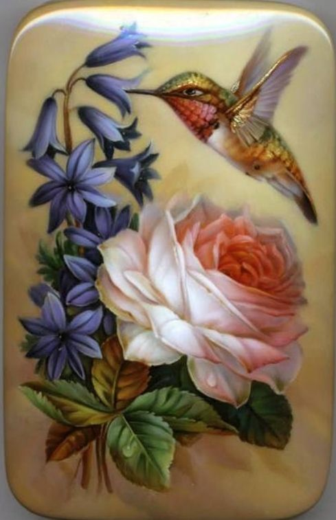 Title: Humming-bird  Artist: Gavrilov Oleg