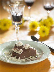 Chokoladebudding - Desserter - Opskrifter - Sunde og slanke opskrifter - SlankeDoktor.dk