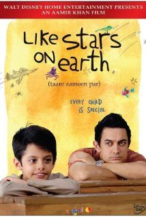 """""""Like Stars On Earth."""" Great foreign film for kids- Bollywood-style film from India about 8 year old that struggles in school due to his dyslexia, until he encounters an incredible art teacher who helps him. My kids LOVE the songs in this movie!"""