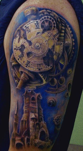 perls tatuaje google search tattoo pinterest steampunk tatoo and deviantart. Black Bedroom Furniture Sets. Home Design Ideas