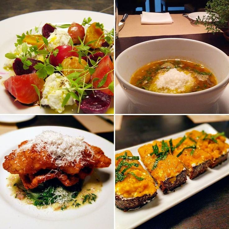 Autumn brings back some old favorites: Roasted Baby Beets and Goat Cheese; French Lentil Soup with Parmesan and Herbs; Veal Milanese with Escarole and Lemon; Kabocha Toast with Ricotta #fallfood #eatclean #organic #greenmarket #vegetarian #mercerkitchen #soho . . . . . #nyceats #foodpic #instafood #chefsofinstagram #food #eatingnyc  #zagatnyc #teampixel