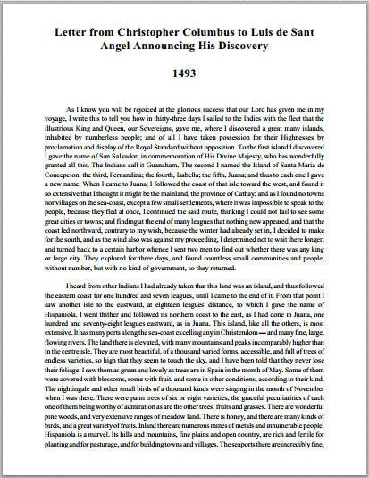 another side of christopher columbus essay Theme of hardship in the grapes of wrath essay more about theme of hardship in the grapes of wrath essay another side of christopher columbus essay.