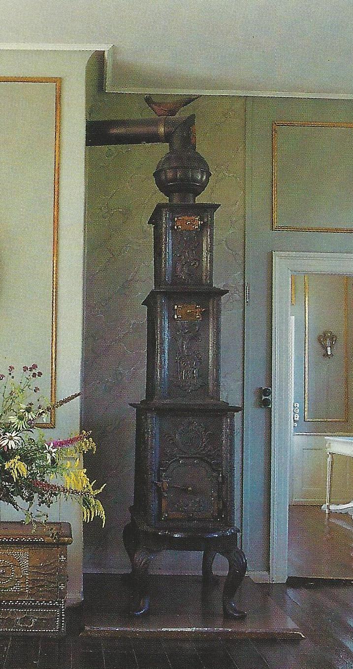 Wow!  Antique stove