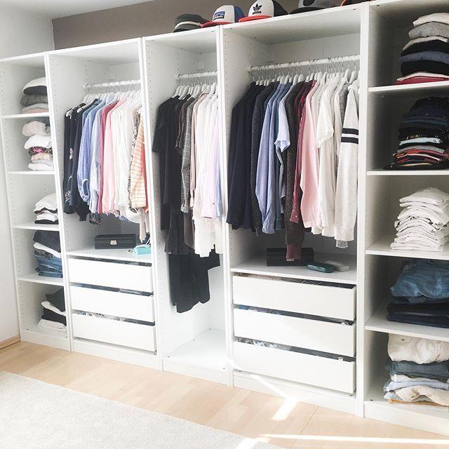 Dressing Chambre A Coucher Avec Dressing Rangement Vetement Organisation Maison