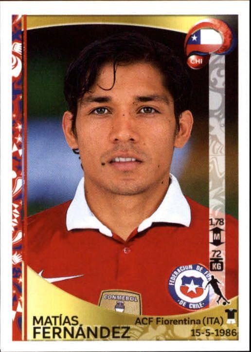 2016 Panini Copa America Centenario Stickers #342 Matias Fernandez