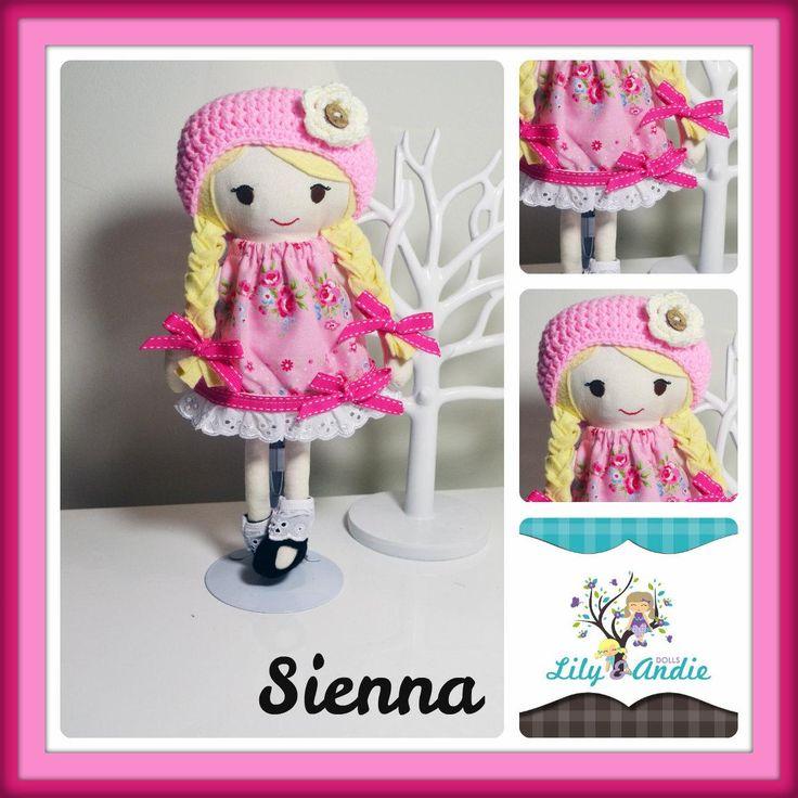 $85.00 Sienna by LilyandAndieDolls on Handmade Australia  https://www.facebook.com/LilyandAndieDolls
