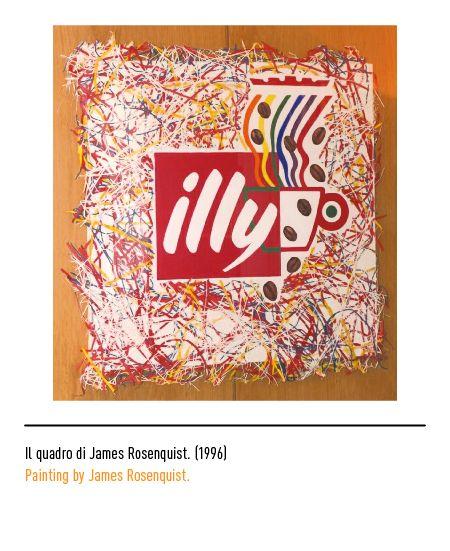 Marchio Illy - Il quadro di James Rosenquist 1996