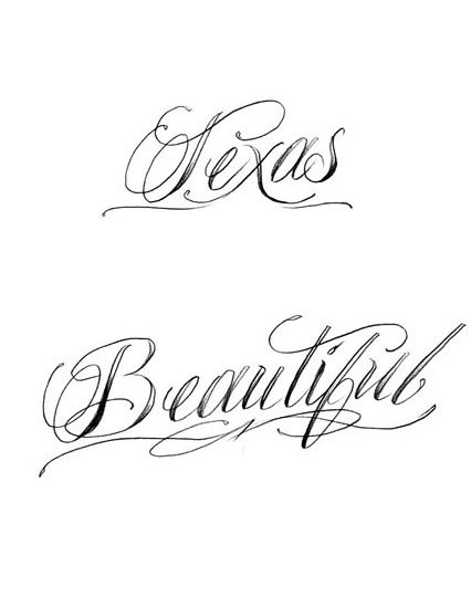 Fonts That Look Like Tattoos: I Like This Font For A One Of My Tattoo Ideas...